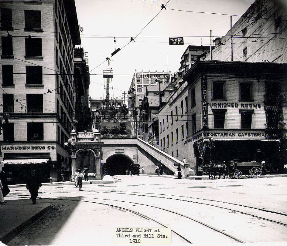 ANGELS FLIGHT, 1910