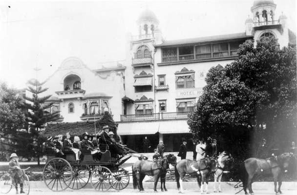 HOLLYWOOD HOTEL, 1910